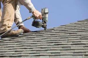 nailgun roofing