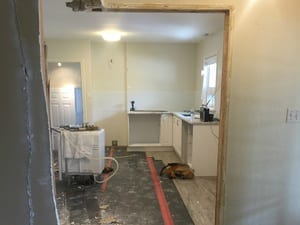 interior construction of house