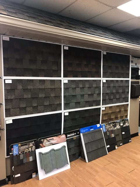 Robert Benevento Roofing and Siding Showroom